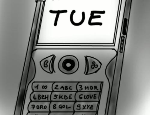 Le téléphone indispensable éteint et au vestiaire.