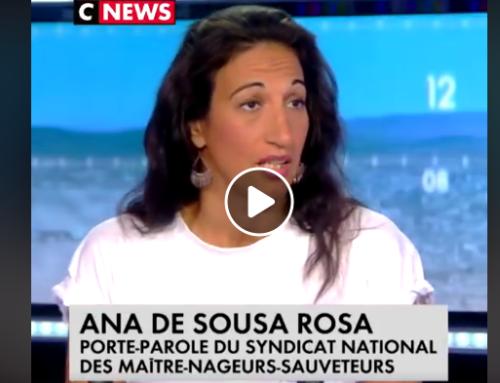 CNEWS : «Il manque 5000 maîtres-nageurs en France» : le cri d'alarme d'Ana de Sousa Rosa, porte-parole du syndicat national des maîtres-nageurs-sauveteurs, invitée de La Matinale