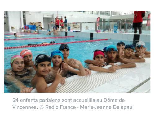 Franceinfo : interview d'Axel Lamotte sur «l'opération comme un poisson dans l'eau» du Secours Populaire
