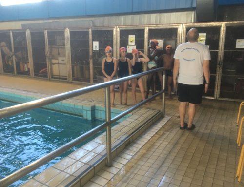 Deuxième jour du dispositif «Je nage donc je suis» en Seine Saint-Denis.