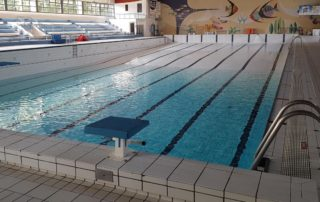 piscine en vidange