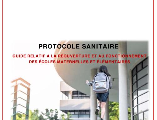 Le nouveau protocole sanitaire paru le 26 août : « Démerdez-vous ! Mais tout est prêt… »