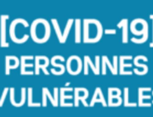 Covid-19 personnes vulnérables